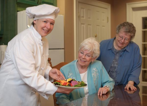 Nutrition Benefits at Senior Living Communities