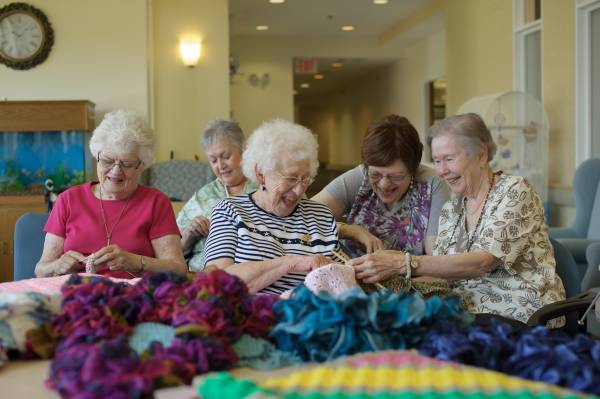 Senior Living Homes Celebrate Older Americans Month