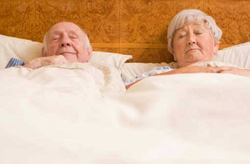 senior sleep tips, senior health tips