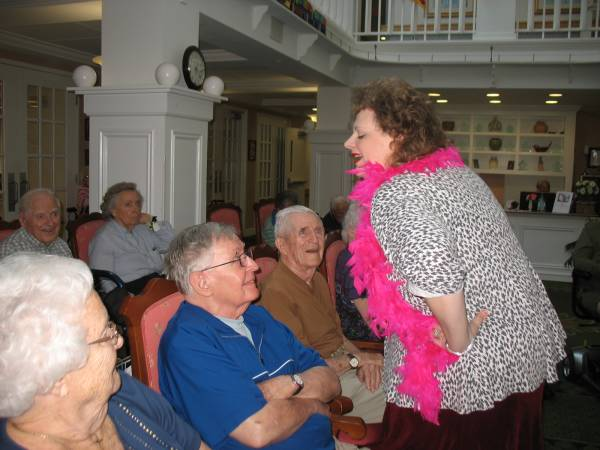 Crosby Commons Assisted Living Community welcomes the Vaudeville Act