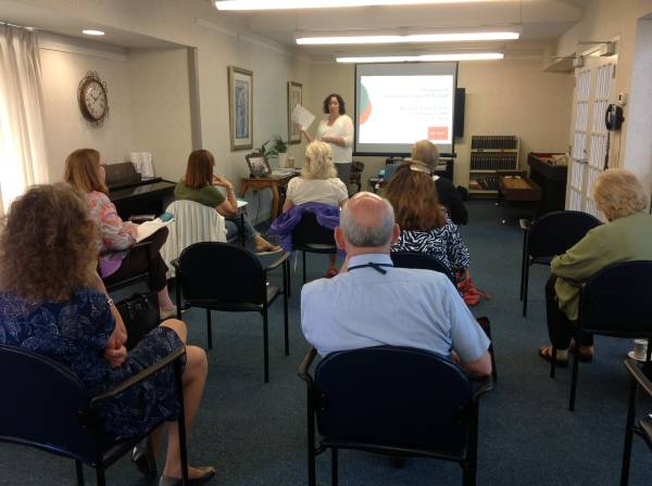 Crosby Commons Assisted Living Hosts Caregiver Education Program