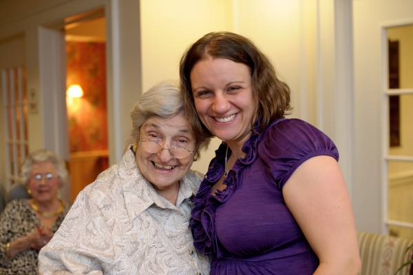 Caring for aging parents-United Methodist Homes