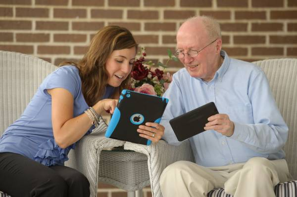 Celebrating Grandparents Day in Assisted Living Communities!