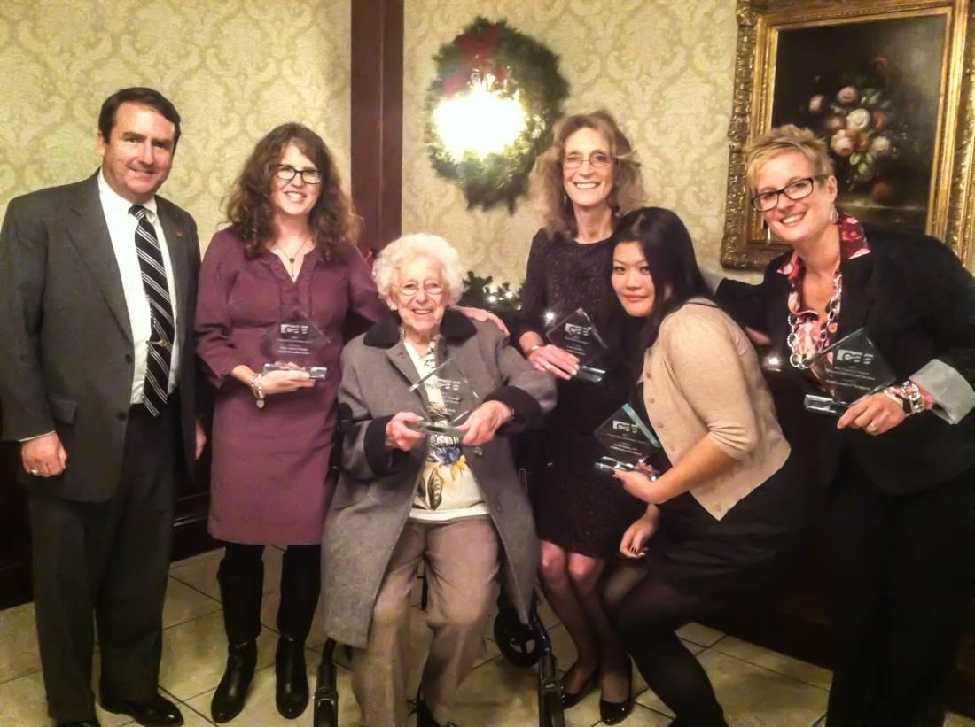 Crosby Commons CALA award winners