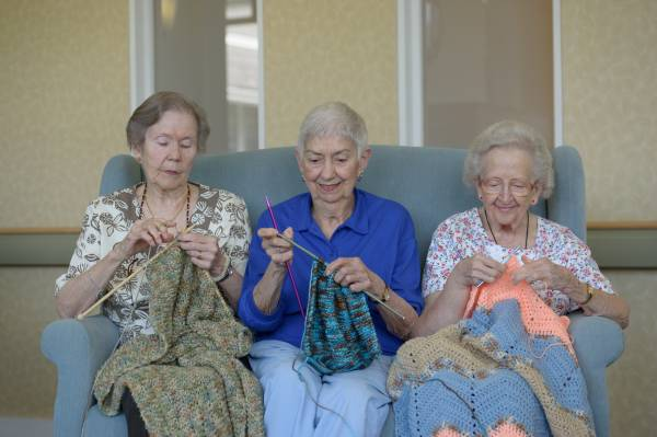 The Benefits of Being a Social Senior