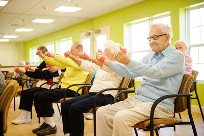 early morning exercise for older adults