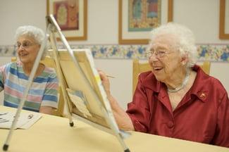 Art Work with Seniors