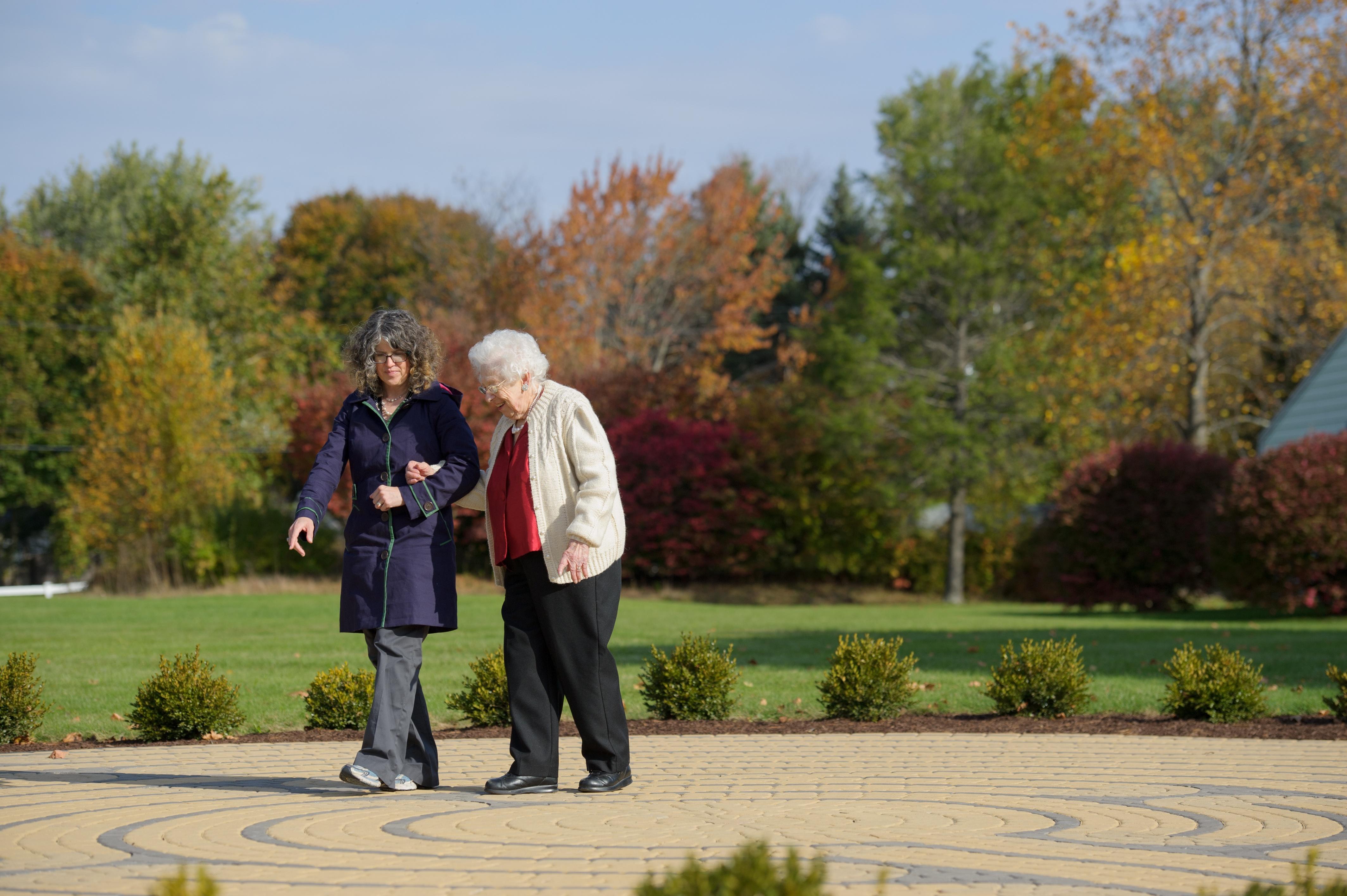 Fall Walks with Seniors