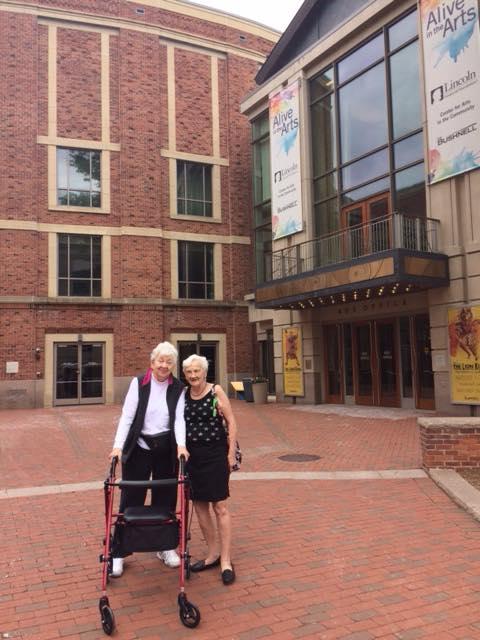 Assisted Living Residents Visit Bushnell Center in Hartford