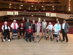 Middlewoods visits Bushnell Center