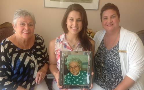 Wesley Village Connects Four Generations
