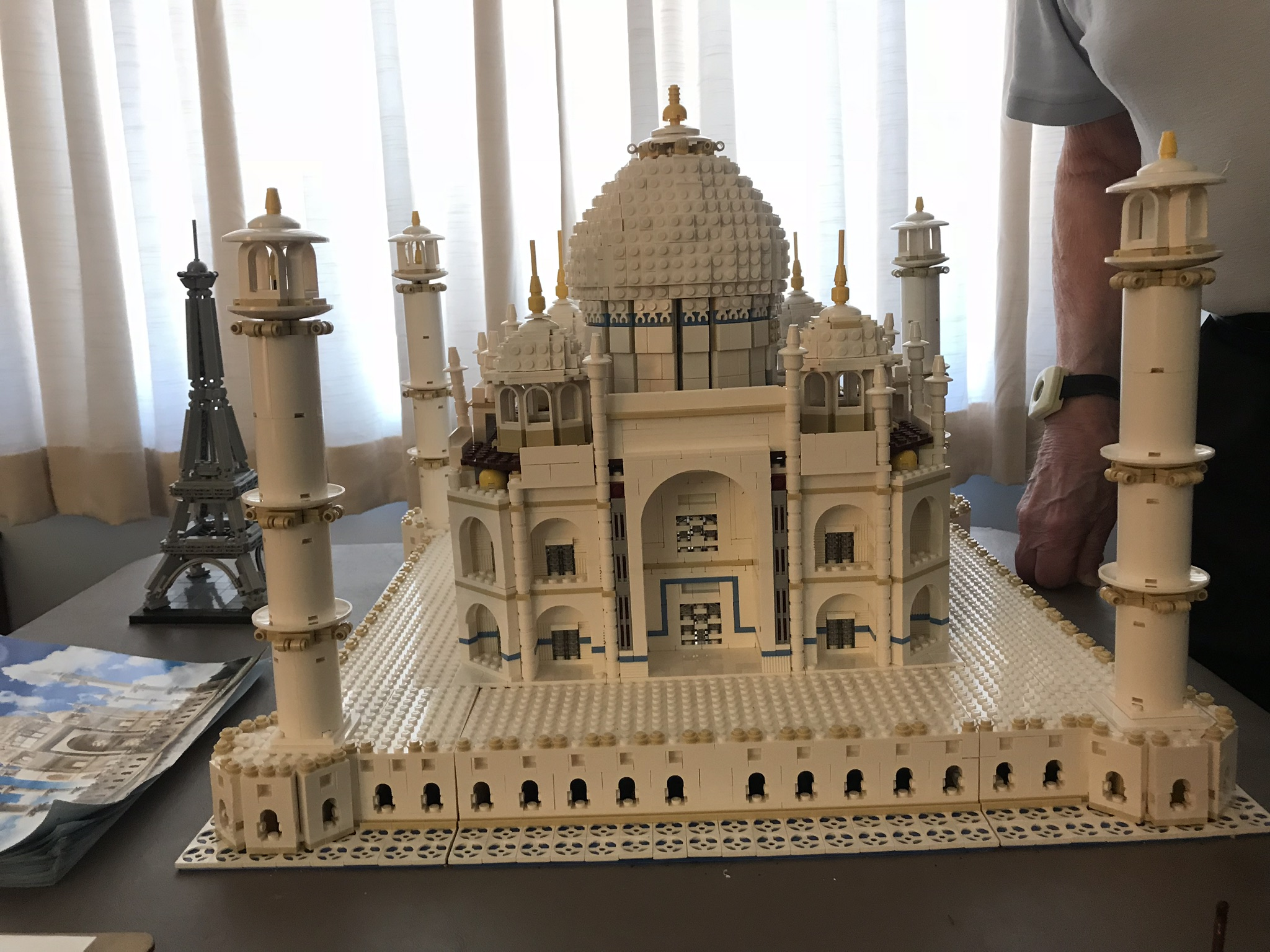 Crosby Commons Resident Completes LEGO Set