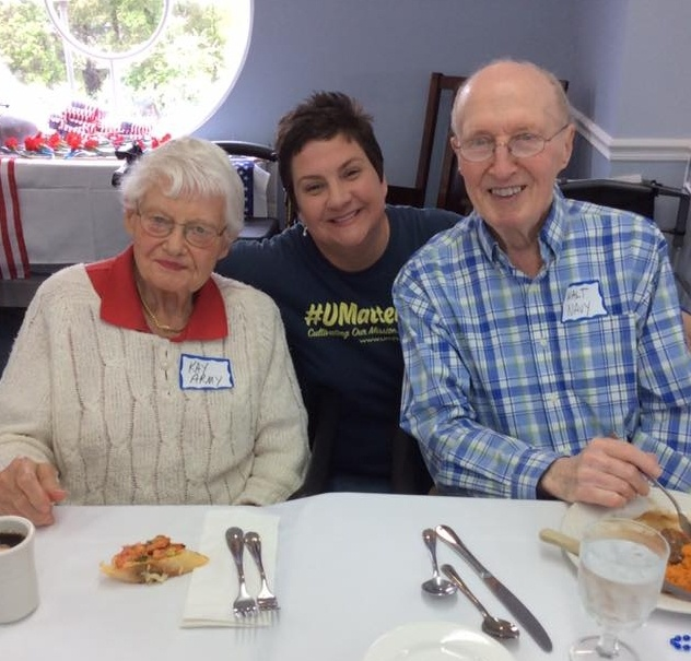 Activities Director and Residents of Wesley Village