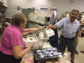 Middlewoods Serves Breakfast to Farmington Post Office.jpg