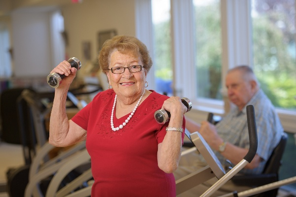 keeping seniors active in winter