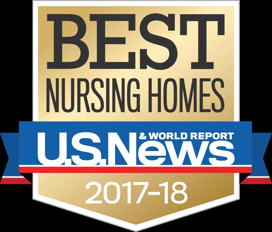 "Bishop Wicke Awarded ""Best Nursing Home"""