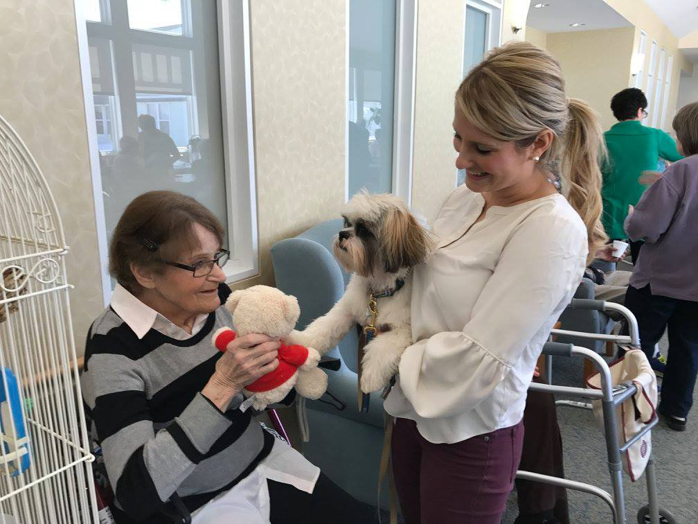 Dog Visits at Wesley Heights