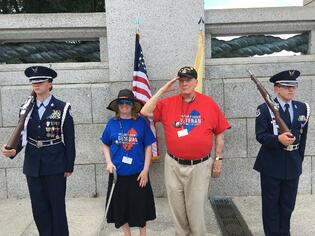 Honor Flight Offers Trip To Middlewood's Resident
