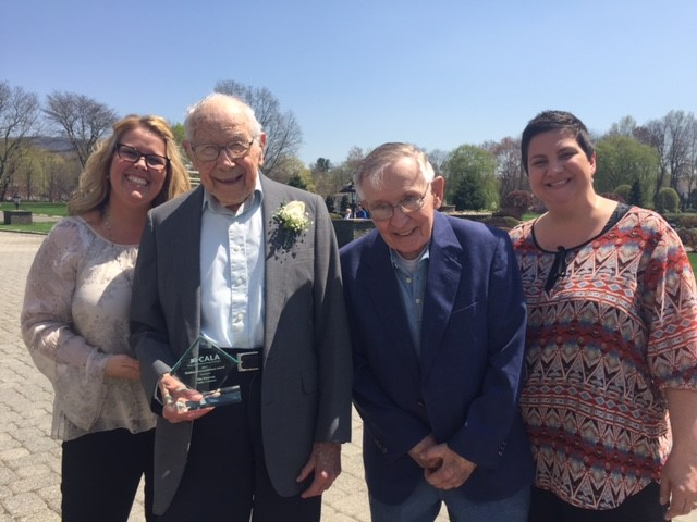 Crosby Commons resident wins CALA award