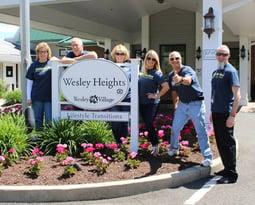 Caring Staff at Wesley Village