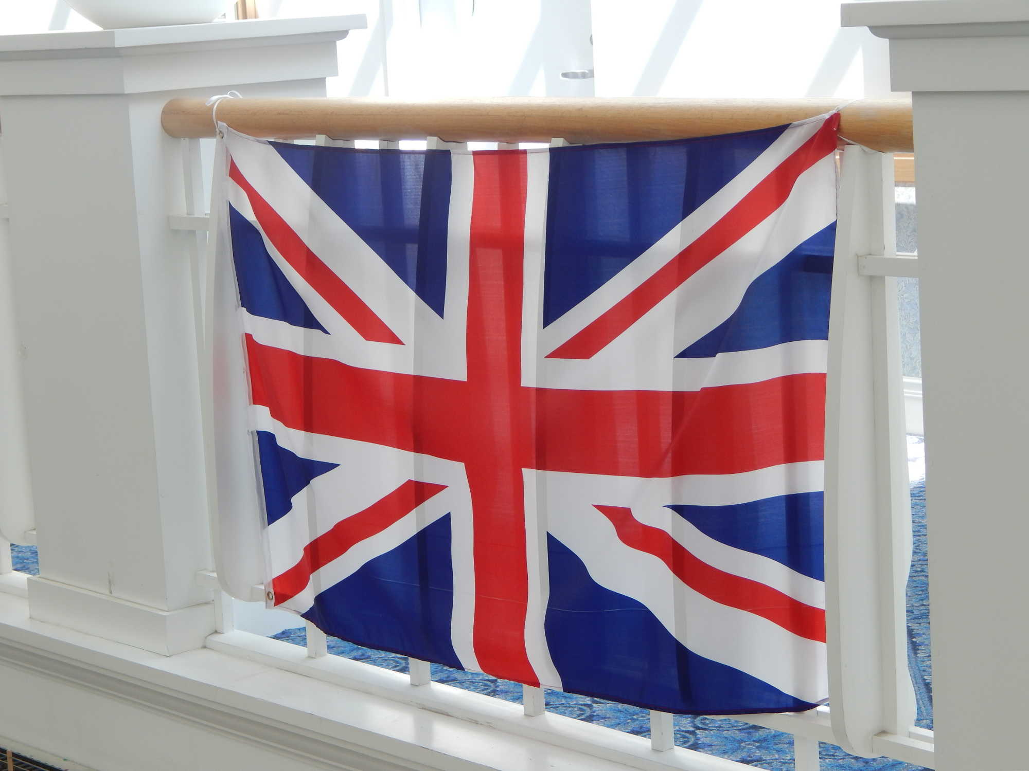 Marie Bawol english flag