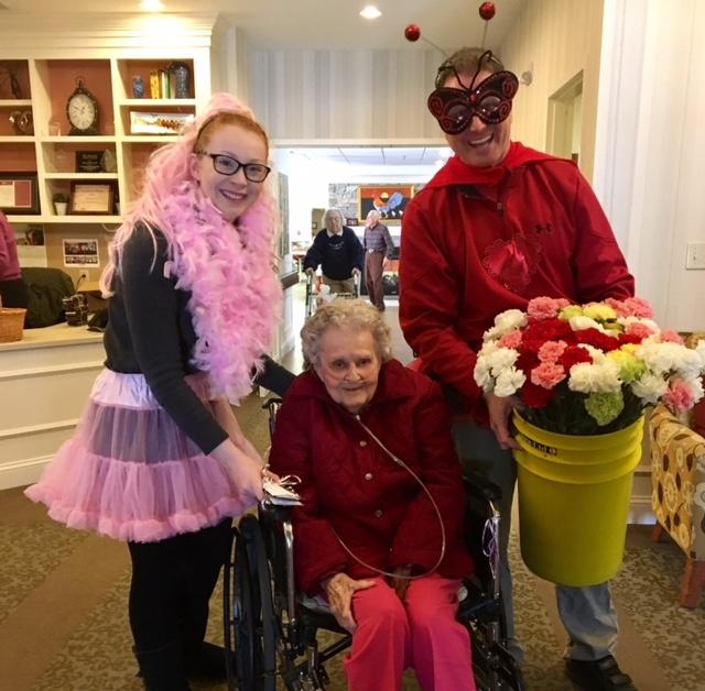 Valentine's Day for Middlewoods' Seniors