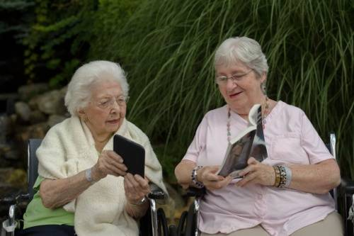Could reading benefit your aging loved one