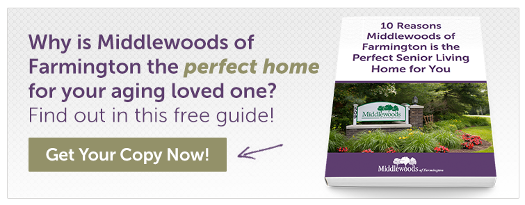 10 Reasons Middlewoods of Farmington is the right community for you
