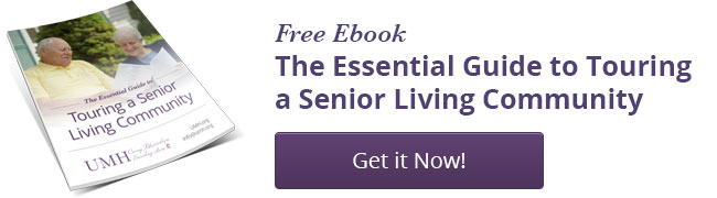 Touring a Senior Living Community Ebook