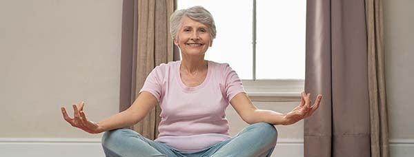 Senior Yoga Pose