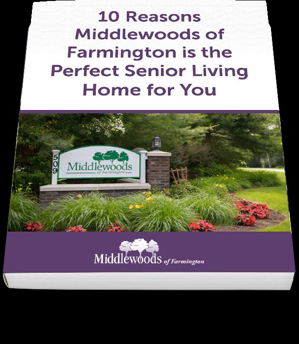 middle woods of farmington senior living community