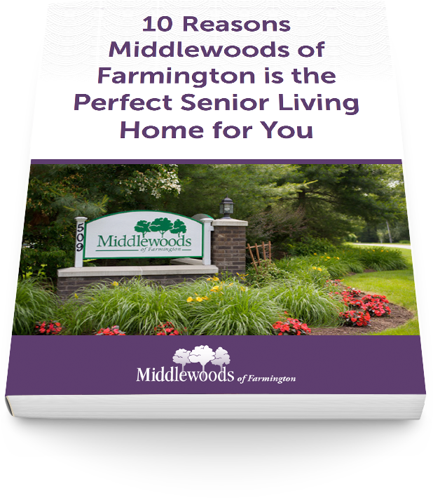 middle woods of farmington senior living community